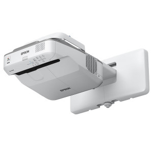 EPSON Ultra Short Throw Projector 3,500 Lumens, 14,000:1 WXGA