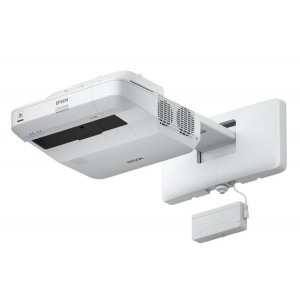 EPSON MeetingMate Ultra Short Throw Projector V11H727053, 3,800 Lumens WUXGA