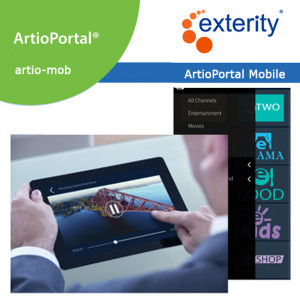 EXTERITY ArtioPortal Mobile client license (Qty 10-99)