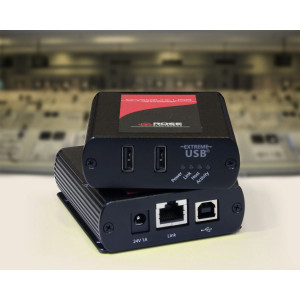 ROSE Rose USB 2.0 Extender, 2 port CAT5e ,100m