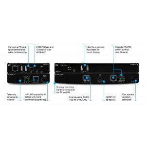 ATLONA Omega 4K/UHD HDMIOverHDBaseTTX/RXwithUSB,ControlPOE