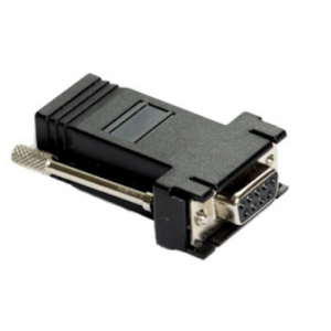 EXTERITY RJ-45 to 9-pin D-type serial connector