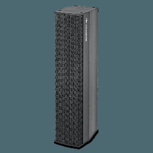 SEAUDIO Technik  I-Line 4 x 3.5 Vented Installation Column System Black