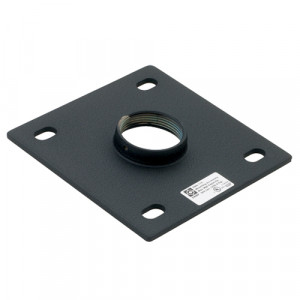 CHIEF Ceiling Plate 152mm Black Supports 226.8kg