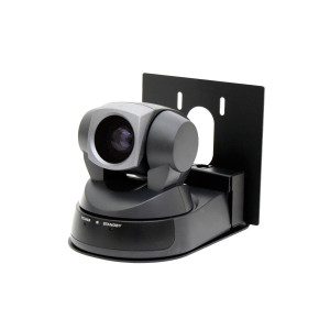 VADDIO Model 100 Thin Profile Wall Mount Bracket - Black